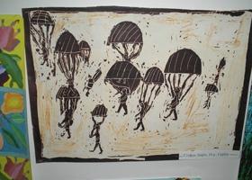Сербские дети прислали в Харьков рисунки о войне