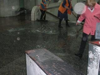 Станцию метро «Научная» затопило