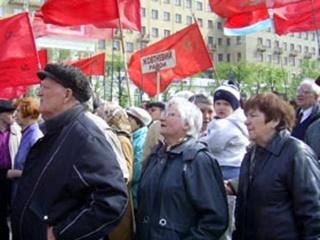 В Первомай Харьков стал красным