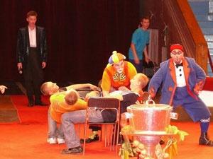 В наш цирк привезли лазерное шоу