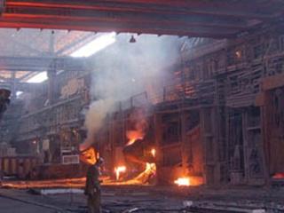 В Запорожье едва не сгорел завод