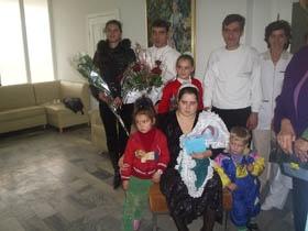 Одесситка Наталья Бабилова родила девятого ребенка
