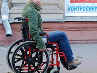 Один  день в инвалидной коляске в Запорожье