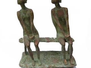 В руках скульптора тополь стал языческим Богом