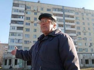 В Бородинском микрорайоне рушится жилой дом