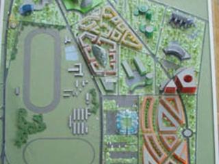 Стадион к «Евро-2012» «построили» на макете