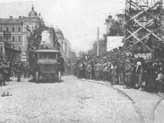 История современности: в Киеве Первомай отмечают с 1894 года