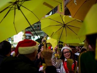 В Гонконге продолжились акции протеста, задержаны 37 человек