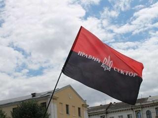 Блокпост  Правого сектора  под Киевом: запаслись черешней и пустыми бутылками