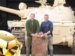 Коллекционер танков нашел в баке советского T-54 золота на два миллиона фунтов