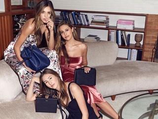Три грации: дочери Сталлоне снялись в новой рекламной кампании