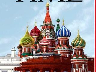 БелоКремль :  журнал Time опубликовал  Белый дом, превращающийся в Кремль