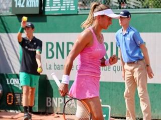 Леся Цуренко уверенно обыграла россиянку Макарову во втором круге Roland Garros