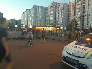 Киевляне перекрыли очередную улицу