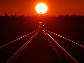 В Украине перегрелись железнодорожные пути