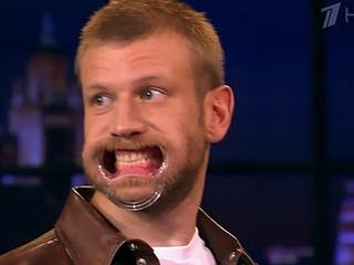 Иван Дорн показал зубы на  Вечернем Урганте