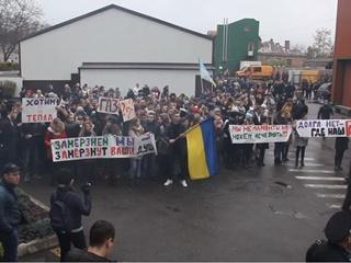 Студенты вышли на протест из-за холодных аудиторий