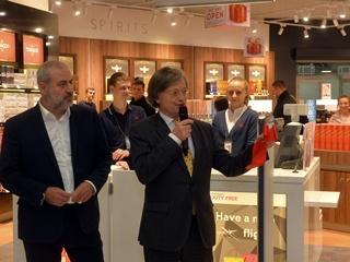 Gebr. Heinemann и  БФ ЭНД ГХ ТРЕВЕЛ РИТЕЙЛ  открыли третий магазин Duty Free в аэропорту  Киев  (Жуляны)