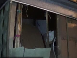 Появилось видео с места взрыва в Донецке