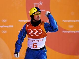 Украинец Александр Абраменко выиграл золото Олимпиады в лыжном фристайле!