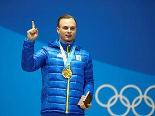 Обладатель  золота  в Пхенчхане Александр Абраменко:  Я никогда не забуду папиных слов  Ты самый лучший сын!
