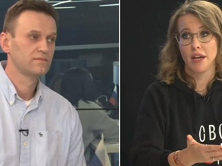 Навальный встретился с Собчак:  Все твои дела отвратительны и лицемерны