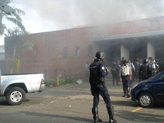 Во время тюремного бунта в Венесуэле вспыхнул пожар, погибли 68 человек