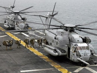 В США разбился крупнейший военный вертолет, есть погибшие
