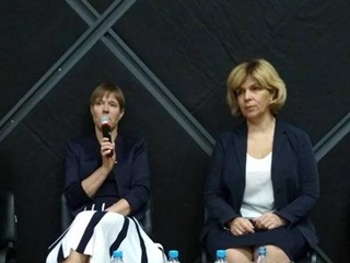 Ольга Богомолец договорилась о сотрудничестве с президентом Эстонии Керсти Кальюлайд