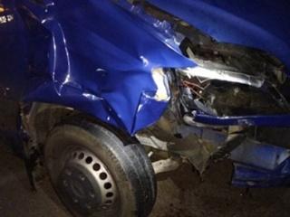 В Венгрии фургон сбил двух украинцев