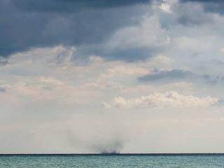 Над Азовским морем зафиксировали очередной смерч