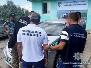 В Николаеве на взятке в 40 тысяч задержали представителя  Укртрансбезопасности