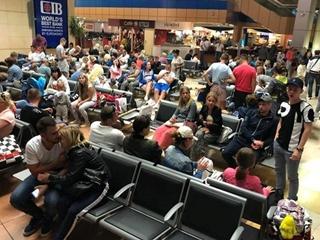 Из аэропорта Анталии не могут вылететь 170 украинских туристов