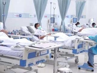 Пещерные  дети: опубликовано видео из больницы со спасенными тайскими футболистами