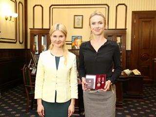 Теннисистка Свитолина получила орден  За заслуги