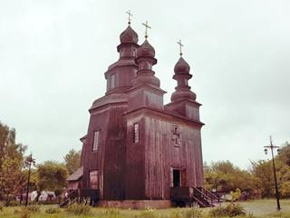 Храм, где снимали легендарного  Вия , начали спасать при Кучме, а забросили при Ющенко