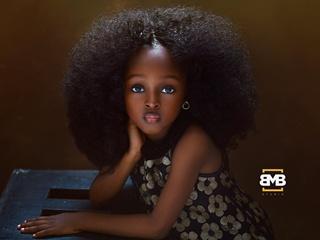 Самая красивая девочка в мире  живет в Нигерии