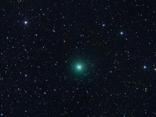 Зеленая комета летит к Земле, предвещая новый конец света