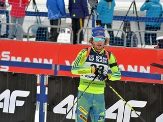 Олимпийский биатлонист проткнул ногу лыжной палкой