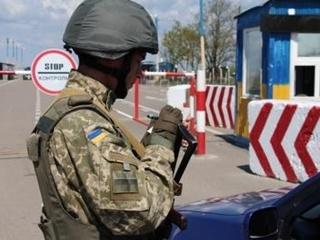 На границе с Крымом остановились два КПП