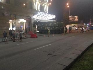 Минобороны расследует аварию с зенитной установкой в центре Киева