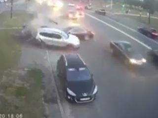 В Киеве очевидцы ДТП подрались с полицией