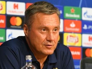 Александр Хацкевич:  Исхожу из того, какими футболистами располагаю на данный момент