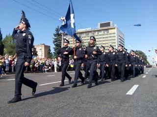 День Независимости в Запорожье: без алкоголя, но с военным парадом