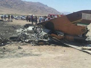 В Иране разбился истребитель, погиб полковник ВВС