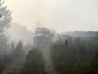 Кременчуг задыхается от смрада из-за пожара на отстойниках  Укрнафты