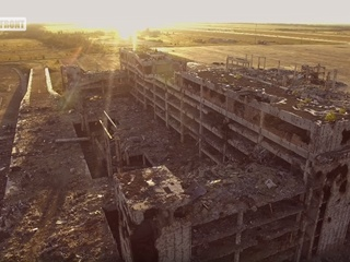 В сети появилось новое видео разрушенного Донецкого аэропорта