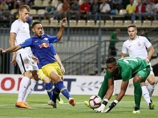 Заря  вылетела из Лиги Европы из-за пенальти на 90-й минуте