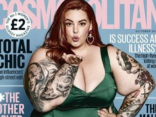 Самая полная модель в мире появилась на обложке модного журнала