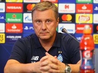 Киевское  Динамо  осталось без главного тренера?